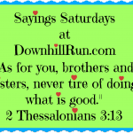 Sayings Saturdays – 10/31/2015