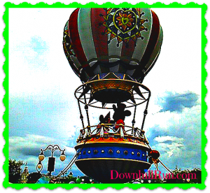 WW disney balloon