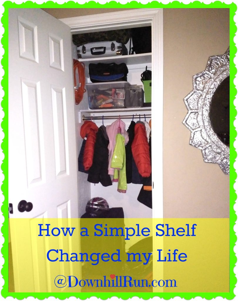 Simple shelf reveal