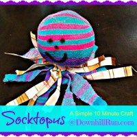 Socktopus - A Simple 10 Minute Craft
