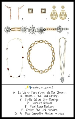 How to match jewelry. Using the Chloe and Isabel line I will show you ways to coordinate your jewelry.