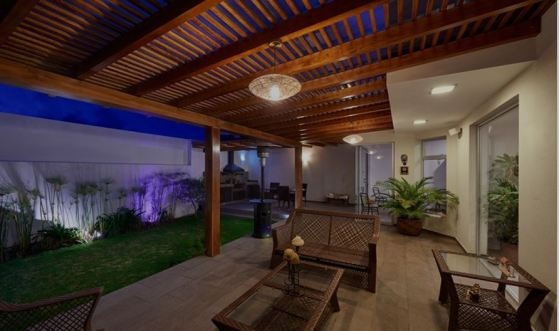 Add a touch of elegance to any backyard with a pergola.