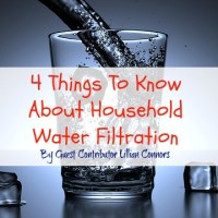 4 Things To Know About Household Water Filtration