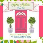Home Matters Linky Party #124