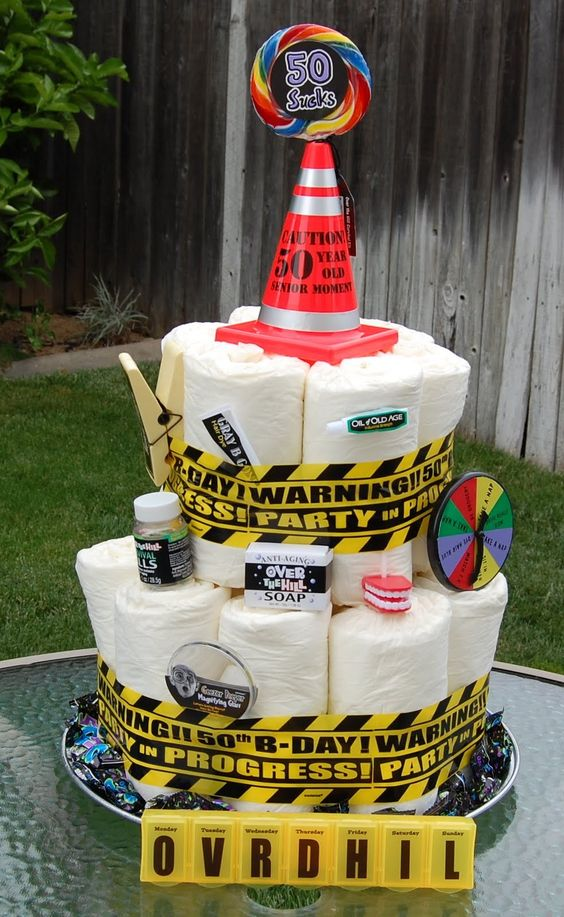 Heres Another Fun Cake Along The Same Line As Adult Diaper Above But I Like Added Twist Of Mid Life Crisis Pharmacy And Carefully