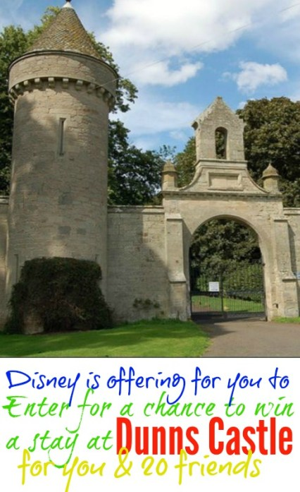 Enter for a chance to win a stay at Dunns Castle