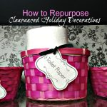 How to Repurpose Clearanced Holiday Decorations