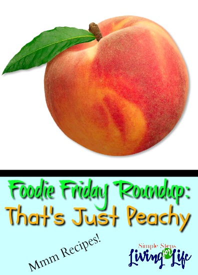 This week's Foodie Friday Roundup is all about peach recipes!
