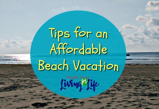 Tips for an affordable vacation.