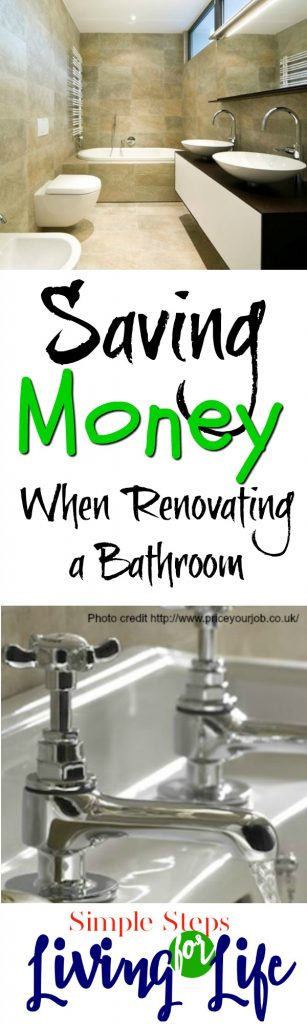 Tips on saving time money and sanity when renovating a bathroom.