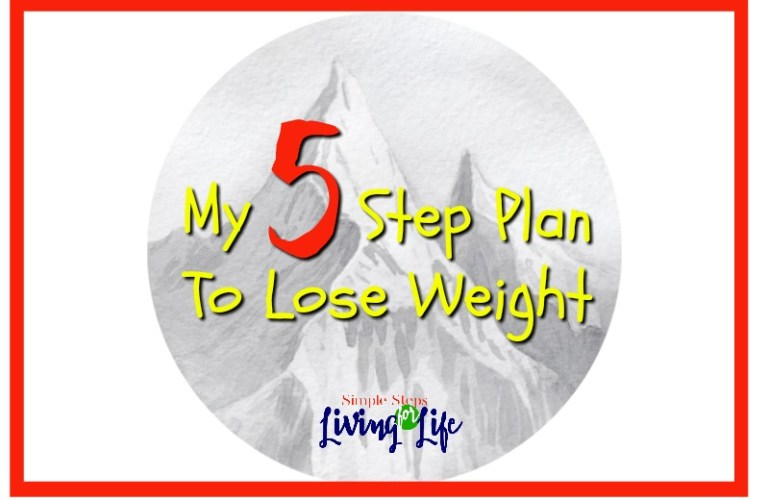 My 5 Step Plan To Lose Weight