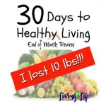 30 DAY TO HEALTHY LIVING: END OF CHALLENGE