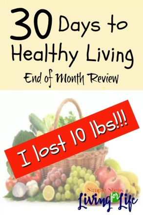 30 Days to healthy living Review