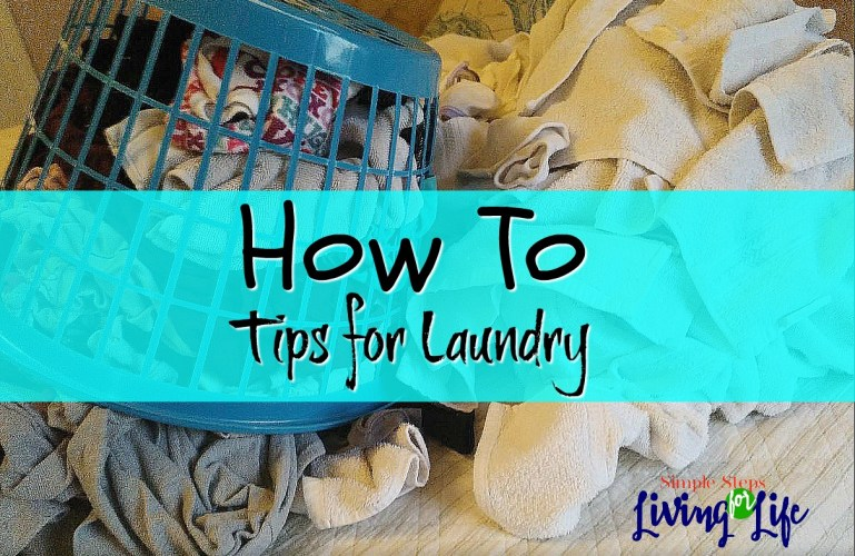 How To Tips for Laundry