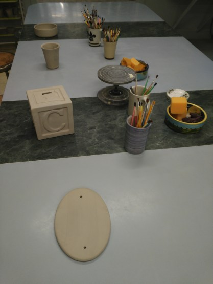 Louisville Stoneware - Paint your own pottery review.