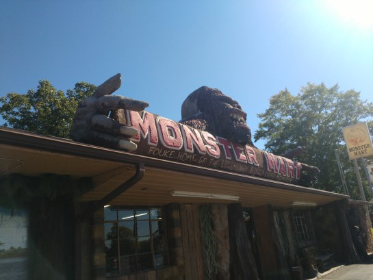 Monster Mart in Fouke, Arkansas is a great roadside stop!