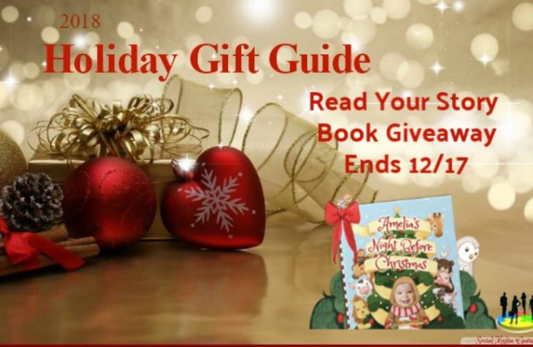 Ready Your Story Book Giveaway ends 12/17/18