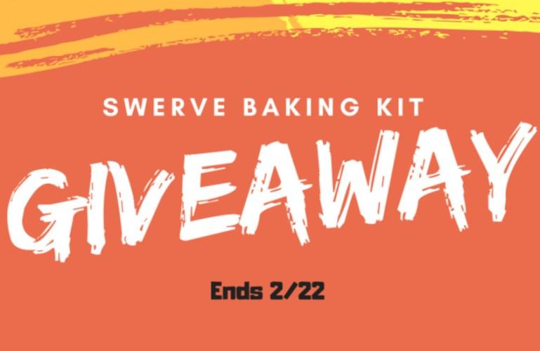 Swerve Baking Kit Giveaway! Ends 2/22