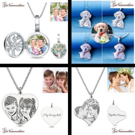 getnamenecklace four images
