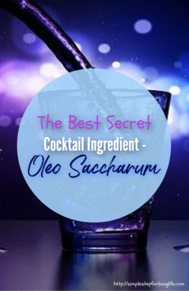 oleo saccharum for delicious cocktails