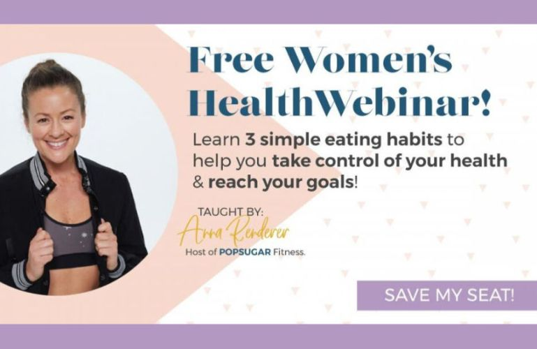 3 Simple Eating Changes to Help You Take Control & Reach Your Health Goals webinar