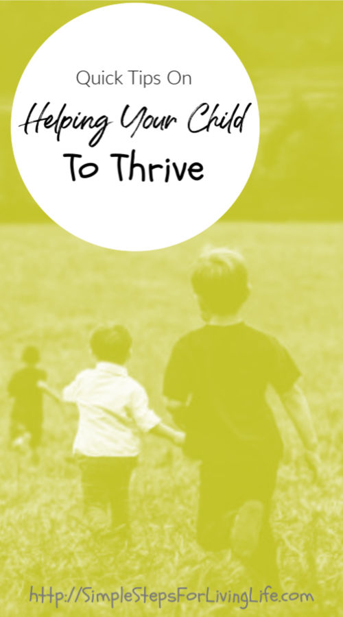 Helping your child to thrive pinterest