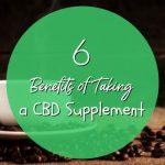 6 Benefits of Taking a CBD Supplement