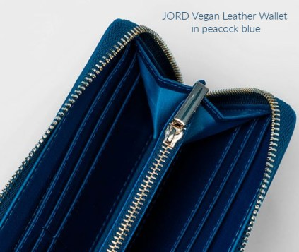 JORD vegan leather wallet