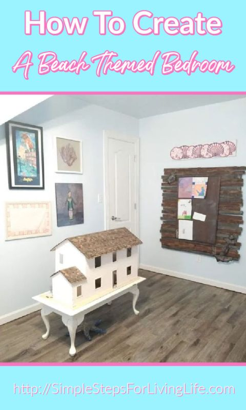 How to create a beach themed bedroom pin2