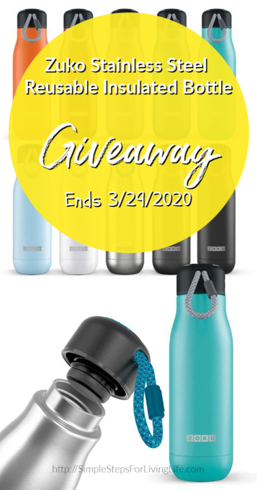 Zuko Home stainless steel giveaway