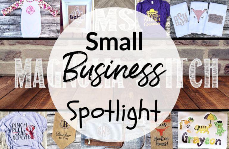 #SmallBusinessSpolight – Magnolia Stitch