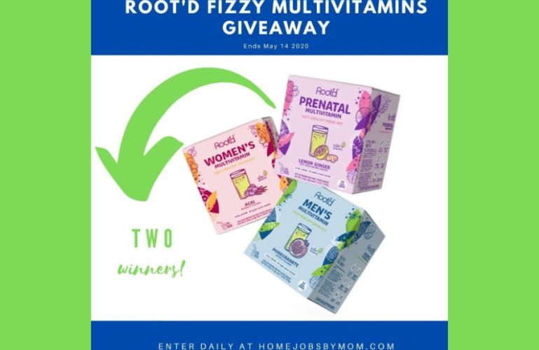 Root'd Fizzy Vitamin Drink Giveaway (ends 5/14)