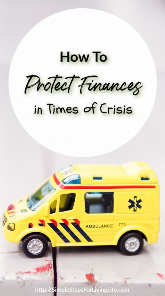 protect finances in times of crisis