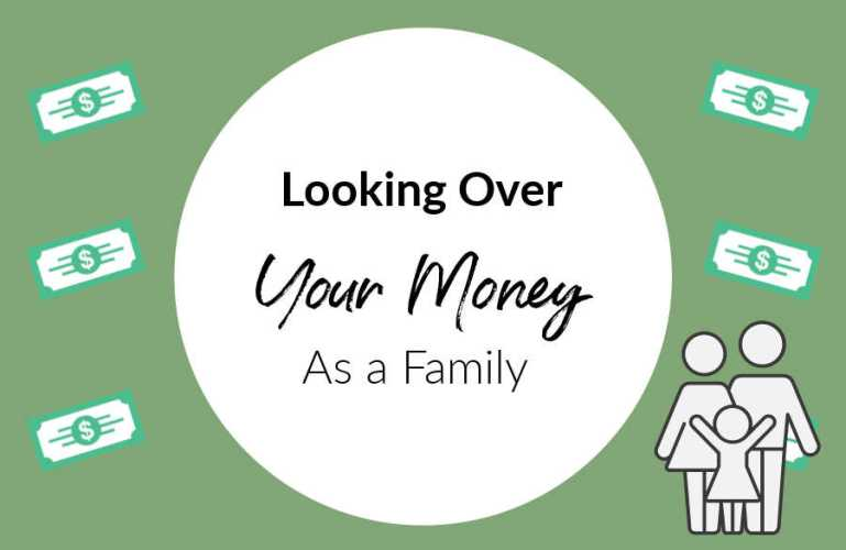 Looking After Your Money As A Family