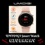 UMIDIGI Smart Watch Giveaway ends 12/24/2020
