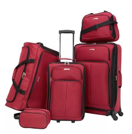 Ridgefield 5 Pc Softside Luggage Set