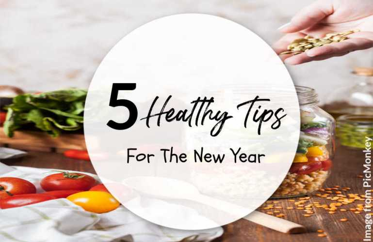5 Healthy Tips For the New Year