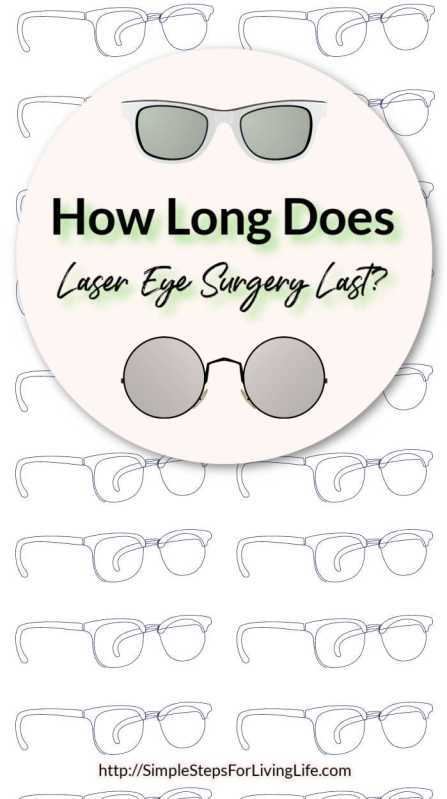 how long does laser eye surgery last