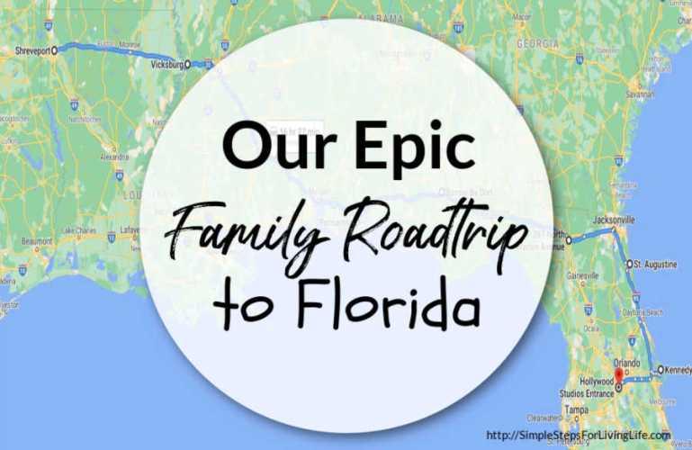 Our Epic Family Roadtrip to Florida
