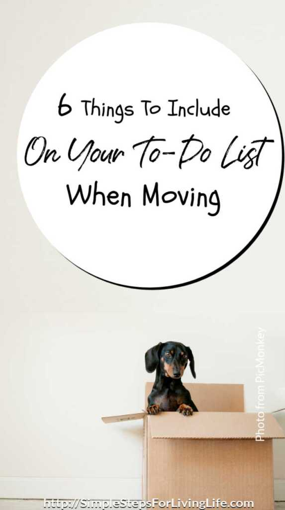 6 Things To Add To Your To-Do List When Moving