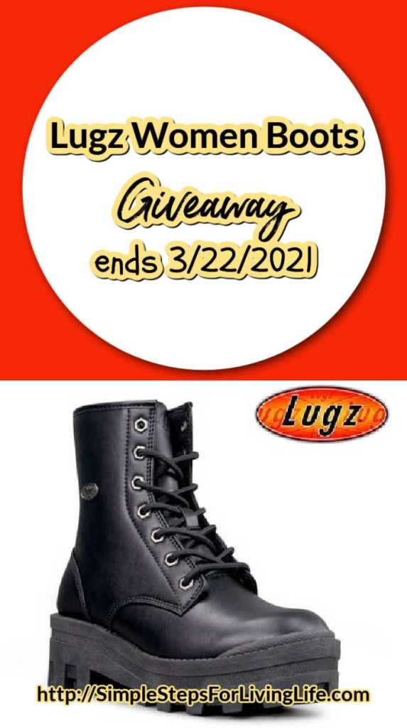 Lugz boot giveaway