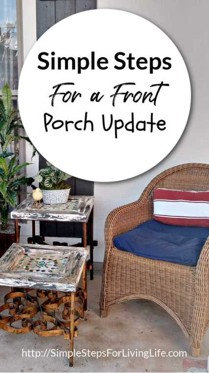 Simple Steps For a Front Porch Update