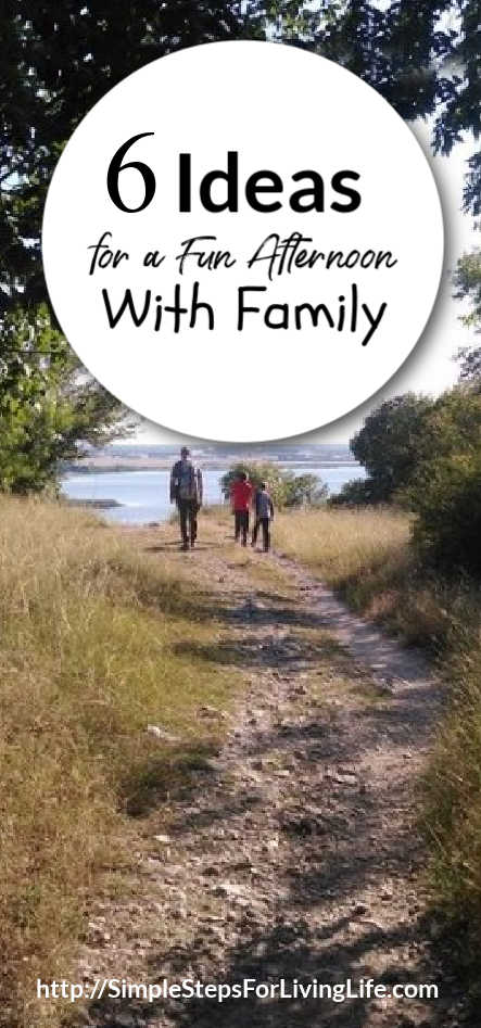 ideas for a fun afternoon with family