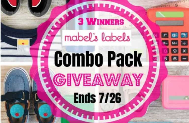 Mabel's Labels Combo Pack Giveaway! ends 7/26/2021