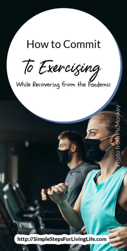 Who else's exercise routine has completely fell apart during the pandemic? Yep, everyone is raising their hands. LOL Check out these ideas to stay committed to exercising.