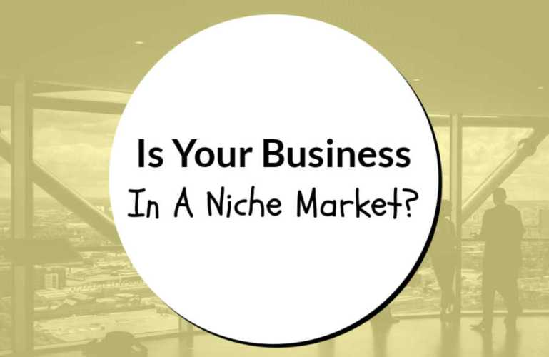 Is Your Business In A Niche Market?