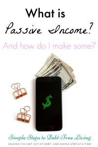 Want to make passive income? Here's how...