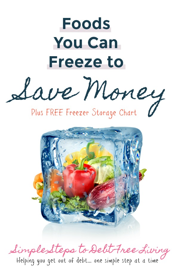 Save a TON of money each year by freezing these foods when they're cheap!