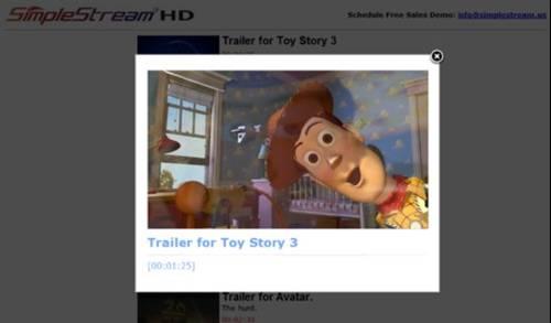 Screenshot Frontend Playback