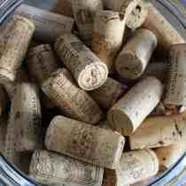 Wine Cork Valentine Heart